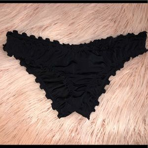 Black swim bottoms
